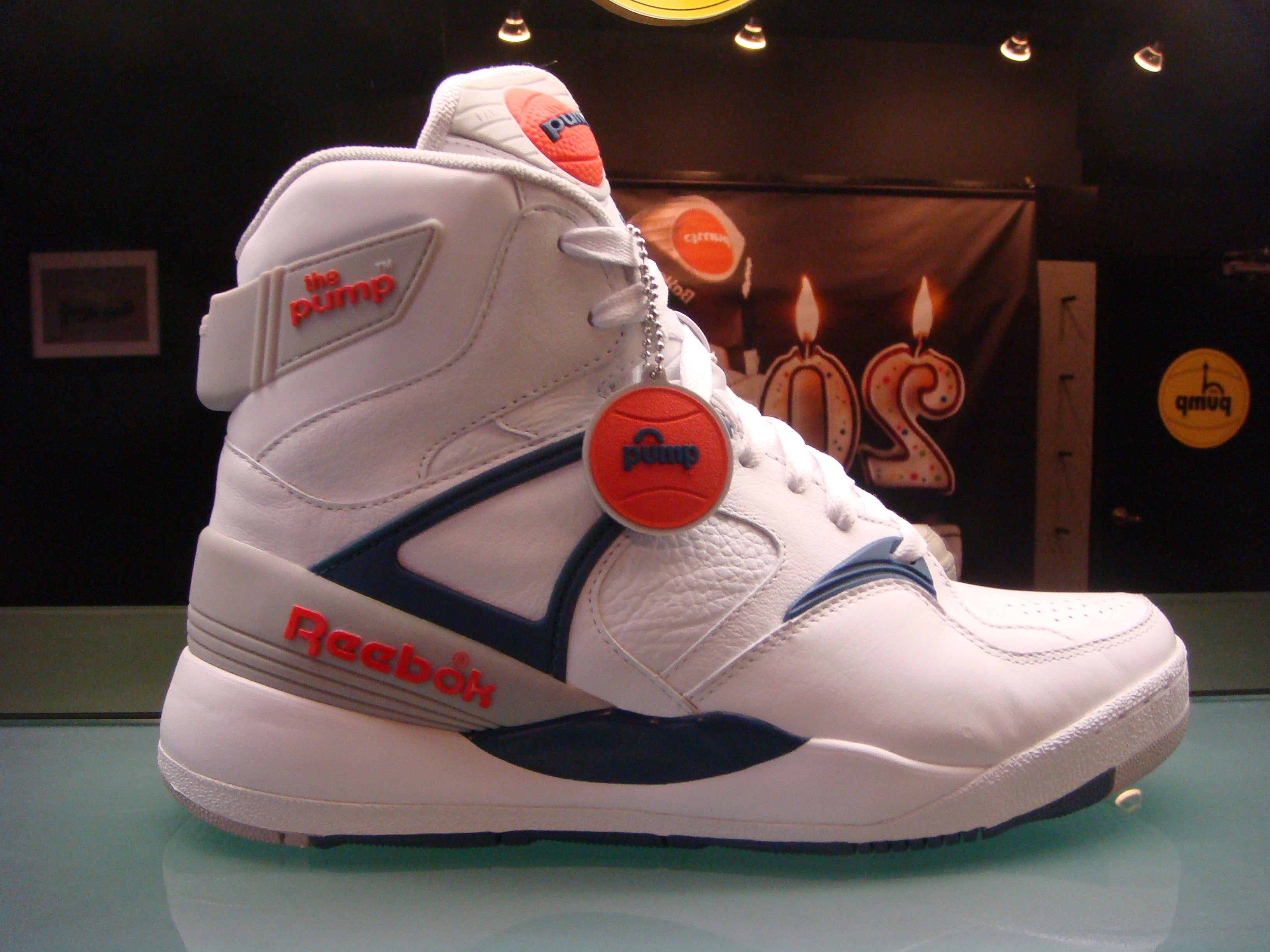 what does the pump on reebok downtown